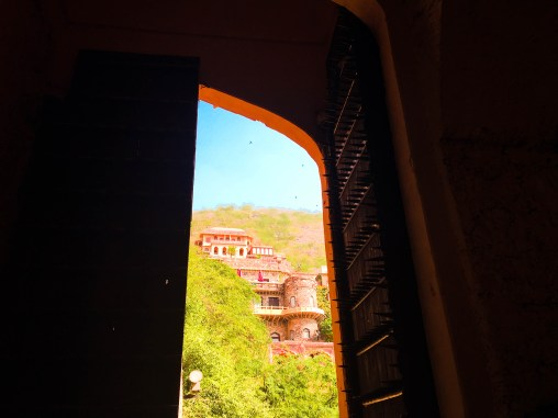 A glimpse of magnificence, Neemrana Fort Palace, Rajasthan, India
