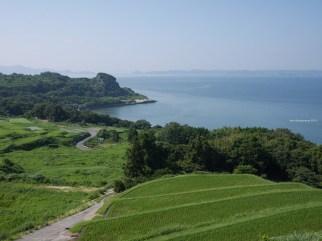 View from Teshima island
