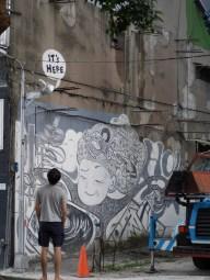 Wall mural in Zhongshan