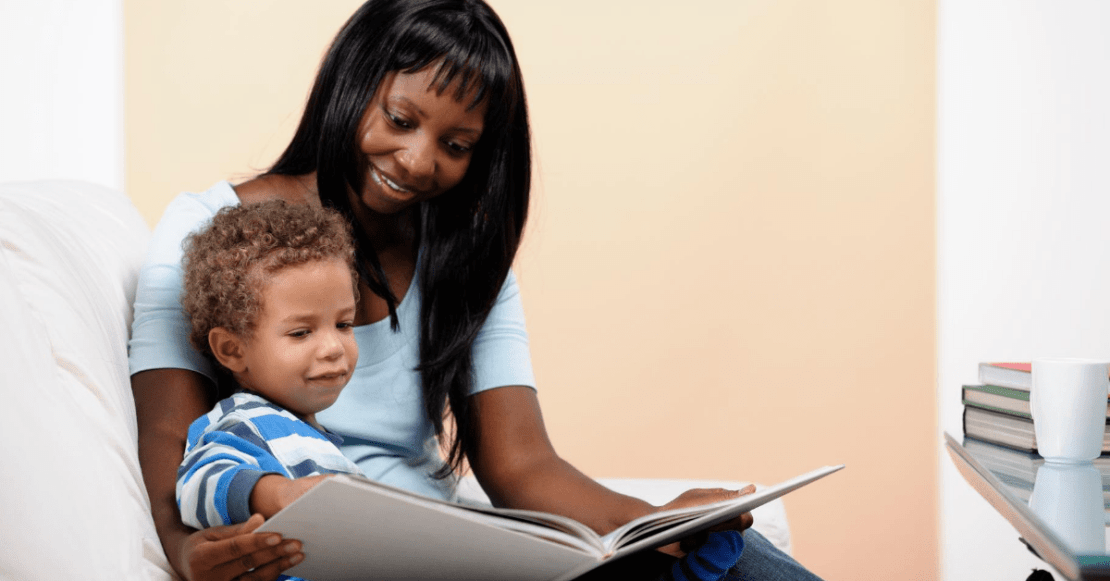 Entertain your toddler by reading to them