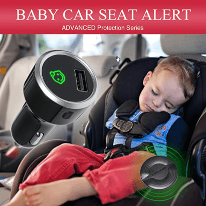 Baby in Car Reminder Warning with Light and Sounds