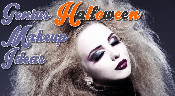 Genius Halloween Makeup Ideas Feature