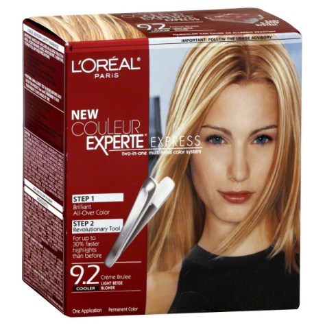 L'Oreal Couleur Experte Haircolor Review 9 Creme Brulee Cooler Light Beige Blonde