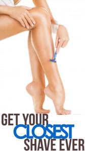 shaving-legs: 4 tips for getting your closest shave ever