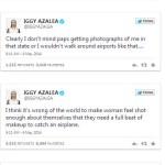 Iggy Azalea With No Makeup Tweets 1