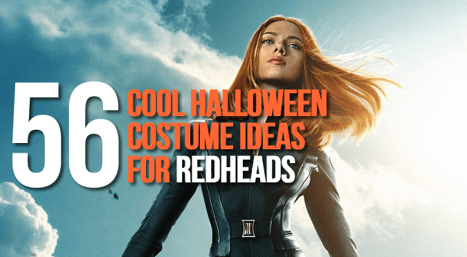 Redhead Halloween Costume IdeasScarlett-Johansson-as-Black-Widow  sc 1 st  Sassy Dove & 56 Cool Halloween Costume Ideas For Redheads | Sassy Dove