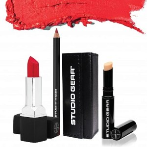 Studio Gear Holiday-Kits-Definition Drama True Red Lipstick Set