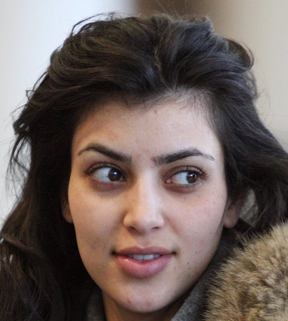 Kim Kardashian Without Makeup 1 Sassy Dove - Kim-k-without-makeup
