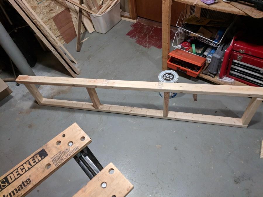 Grow area frame building