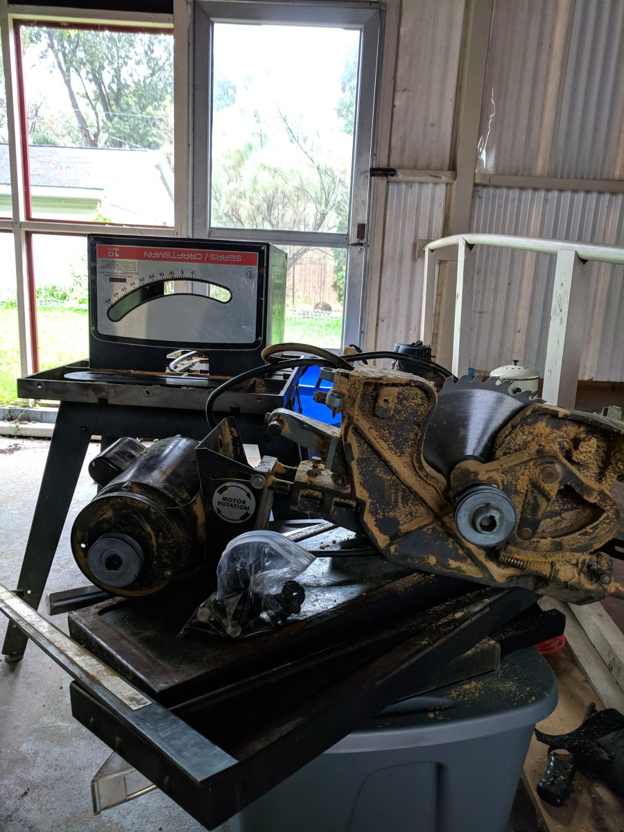 Craftsman Table Saw Disassembled