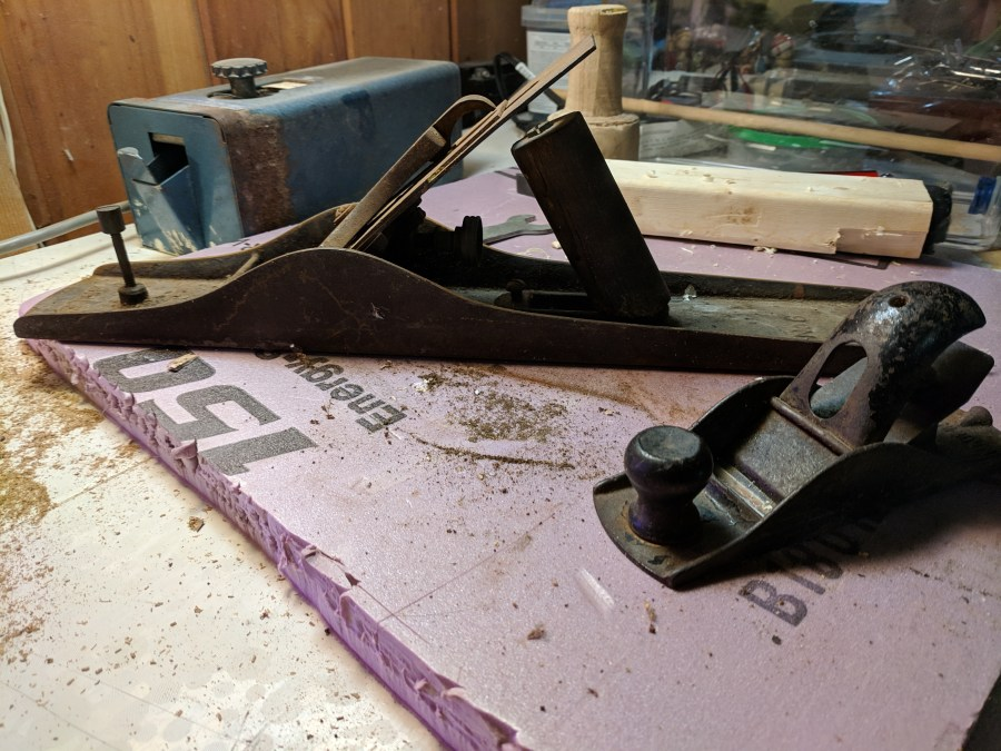 salvage store hand planes