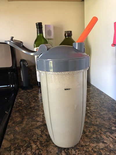 Keto breakfast shake