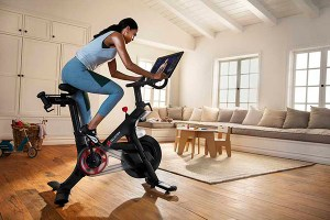 Peloton has a bike treadmill and app to help you with your workout