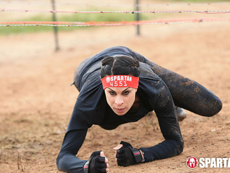 amirra besh army crawl spartan race