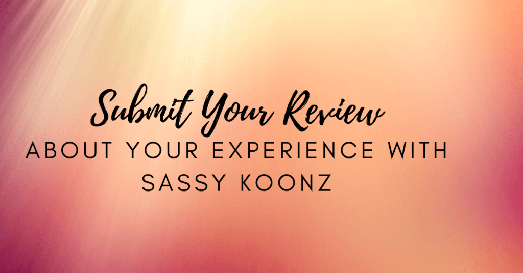 leave a sassy koonz review