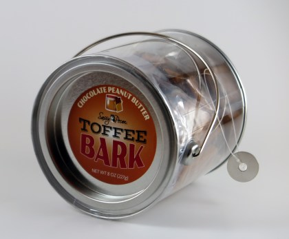 Chocolate Peanut Butter Toffee Bark