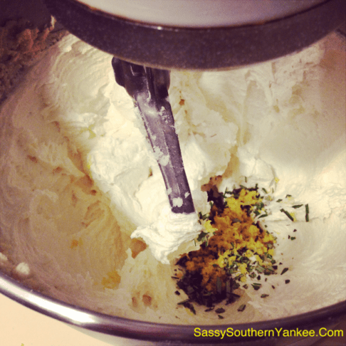 Lemon Rosemary Dough