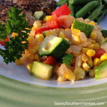 Summer Succotash from Sassy Southern Yankee
