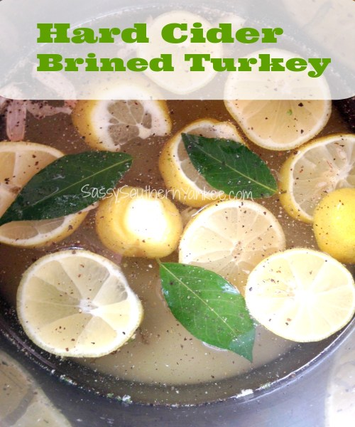 Hard Cider Brined Turkey Cover