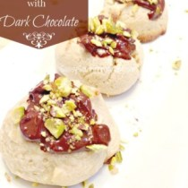 Gluten Free Cannoli Cookies with Dark Chocolate 4