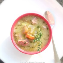 Rosemary Cannellini Bean Soup with Ham 4