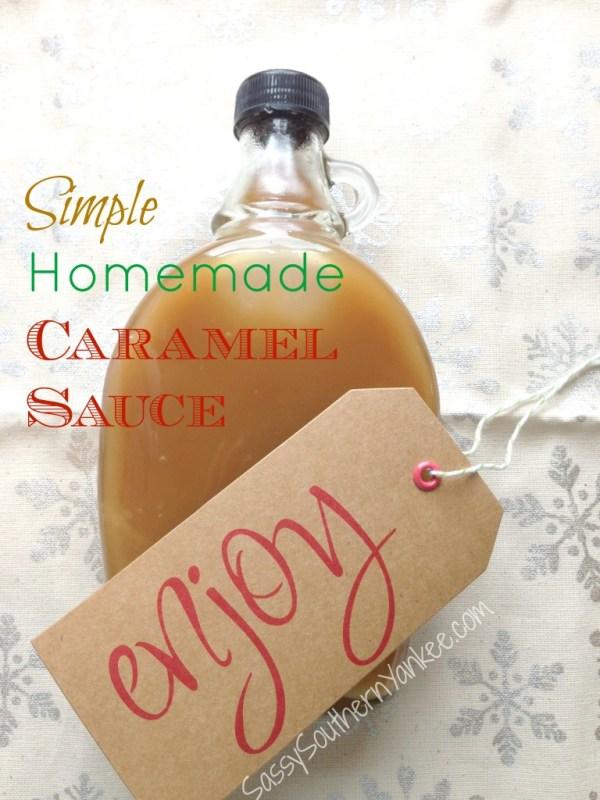 Simple Homemade Caramel Sauce 2
