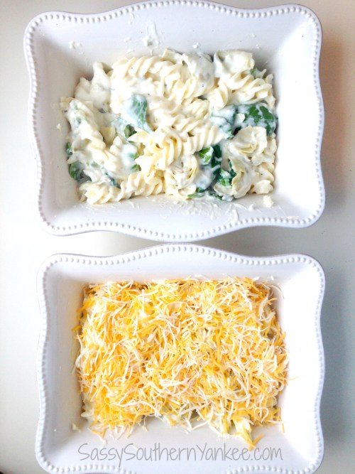 Artichoke Mac & Cheese {Gluten Free} 4