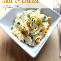 Artichoke Mac & Cheese {Gluten Free} title