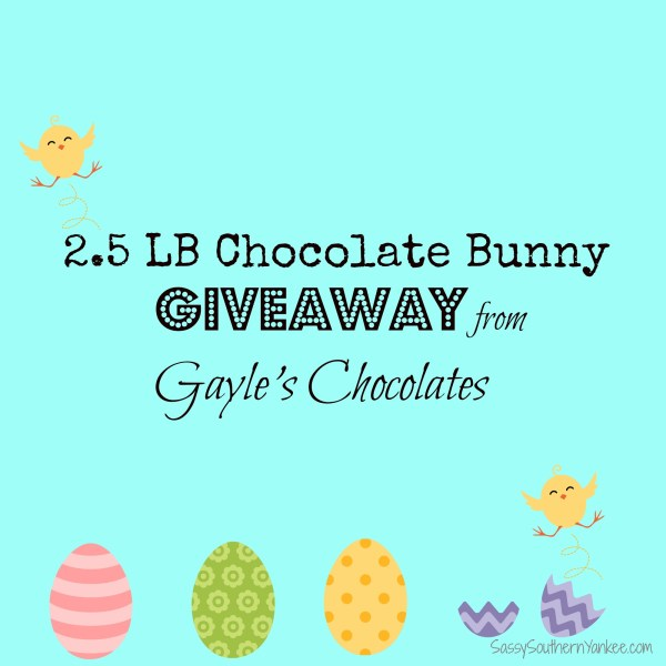 Gayle's Chocolates giveaway