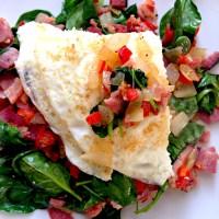 Inside-out Western Omelette