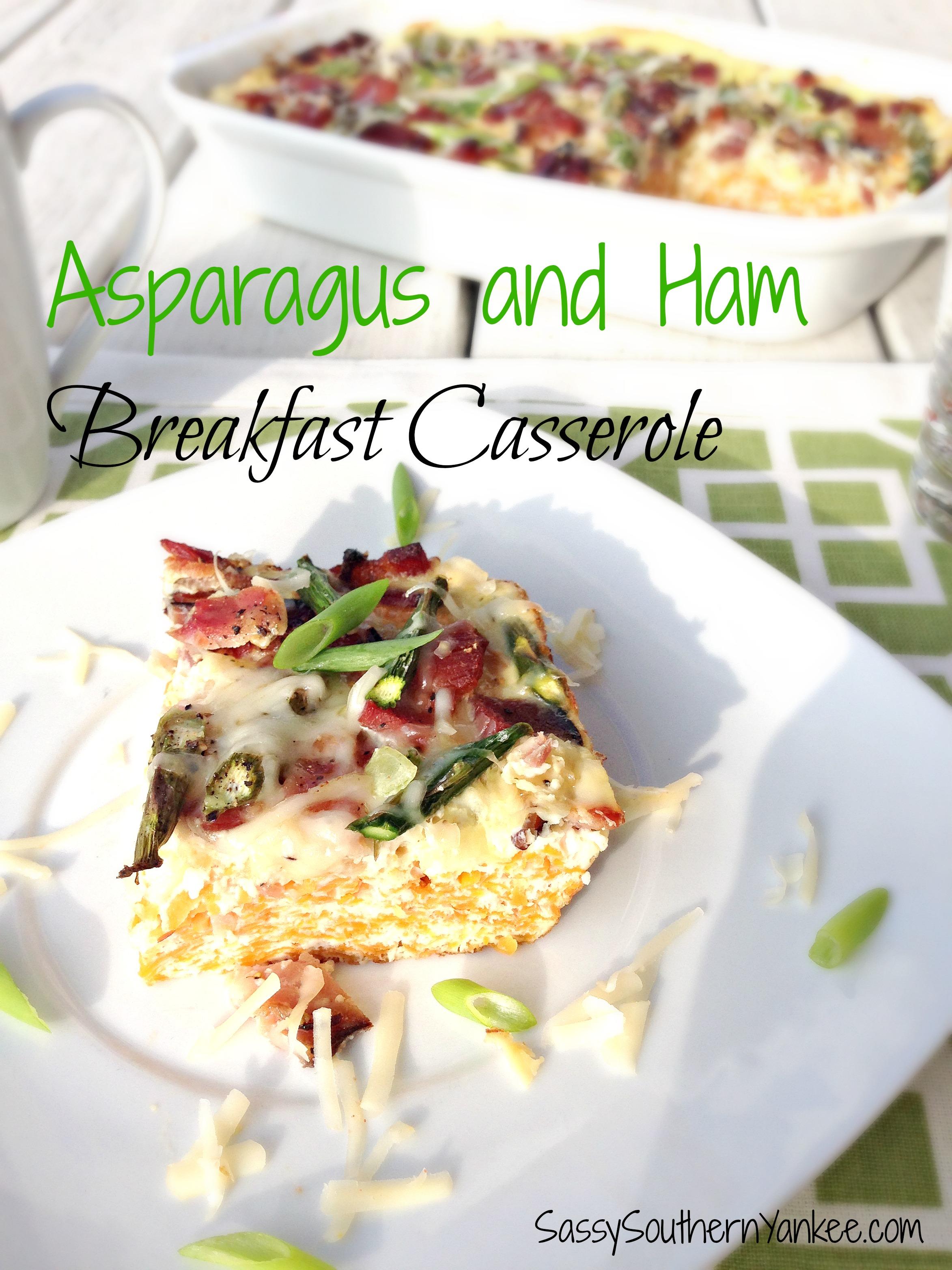 I Hope You Enjoy This Easy Asparagus And Ham Breakfast Casserole! Asparagus  And Ham Breakfast How To Perfectly Roast Fresh Asparagus