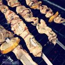 Lemon Rosemary Chicken Skewers 2