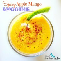 Spicy Apple Mango Smoothie by Sassy Southern Yankee