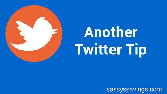 Don't Be a Selfish Egghead! Twitter Tip