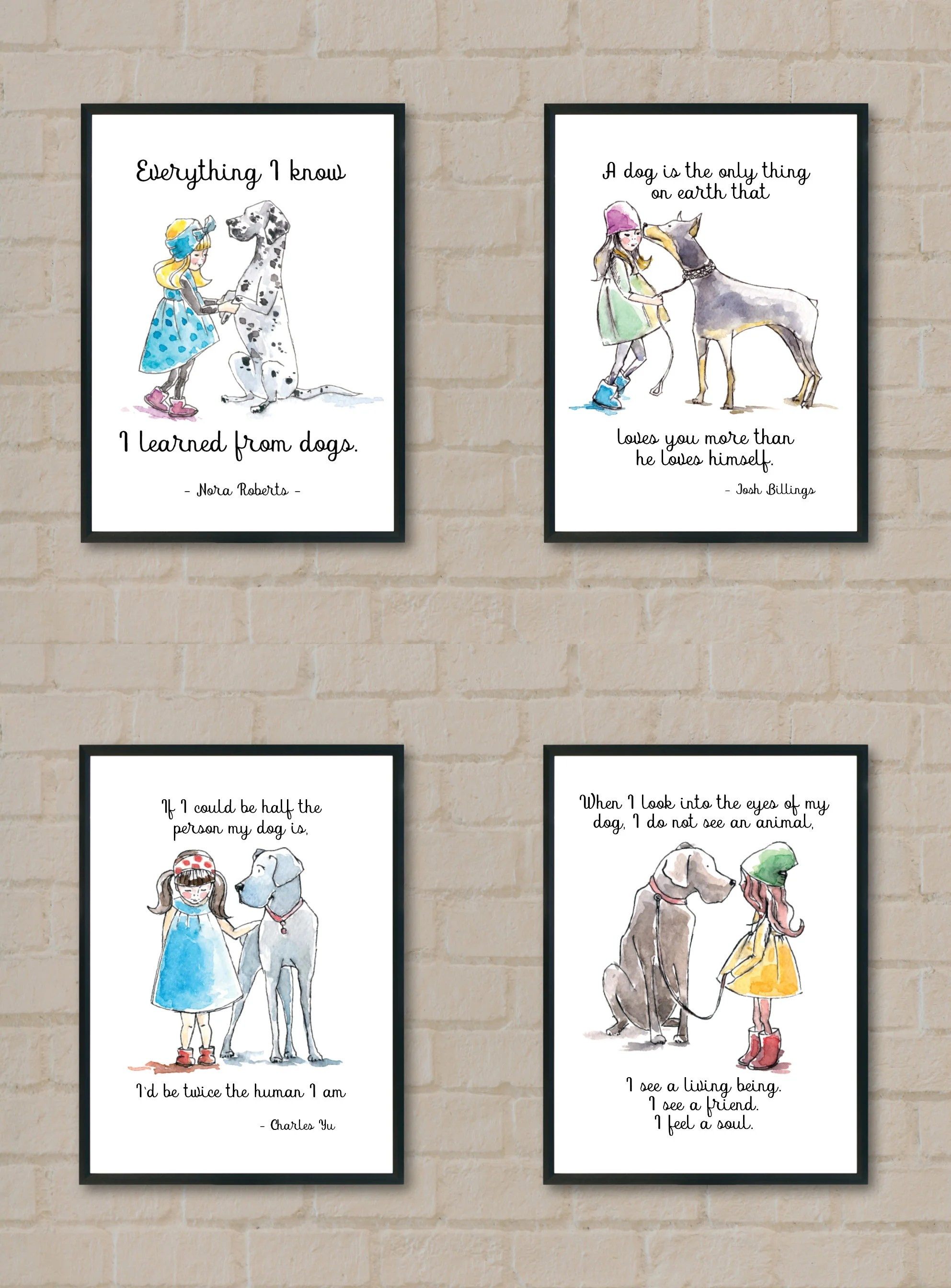 4 Dog Lover Printables Free Perfect For The Dog Lover In You
