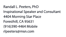 Randy Peeters contact information