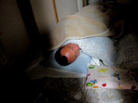 寝込む父ちゃん