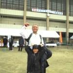 2013宮島クロカン出場、腰痛からの復帰レースでした