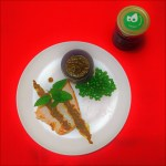 11Picture of Pan roasted sword fish with Sasya Cilantro Spread