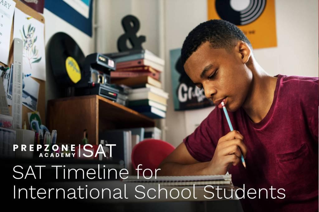 SAT Timeline for International School Students