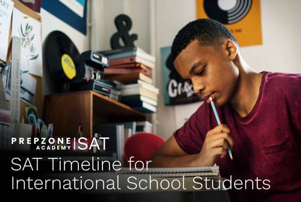 SAT Timeline for International School Students