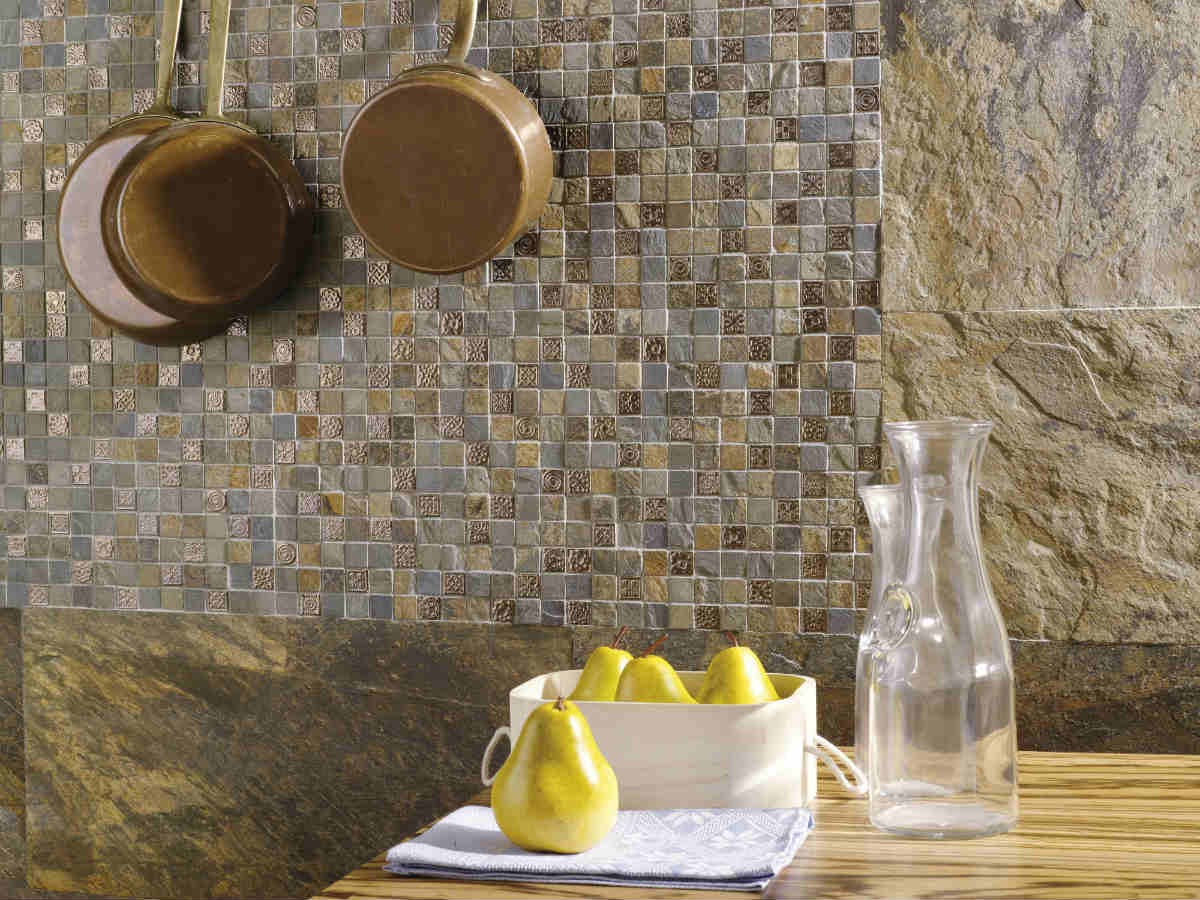 Satariano L Antic Colonial Walls And Floors Contemporary Kitchen Feature Wall Satariano