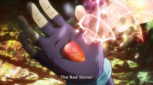 the red stone