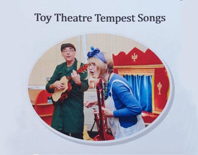Toy Theatre Tempest CD (image)