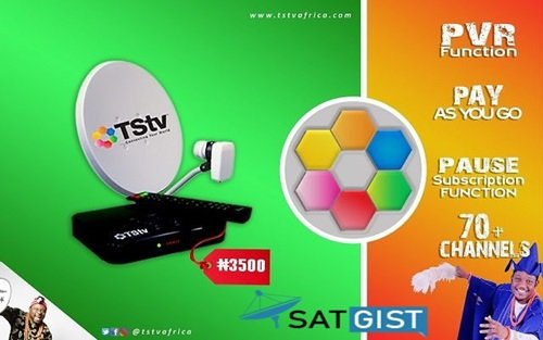New TStv Africa Frequency, Position And Channels Lists