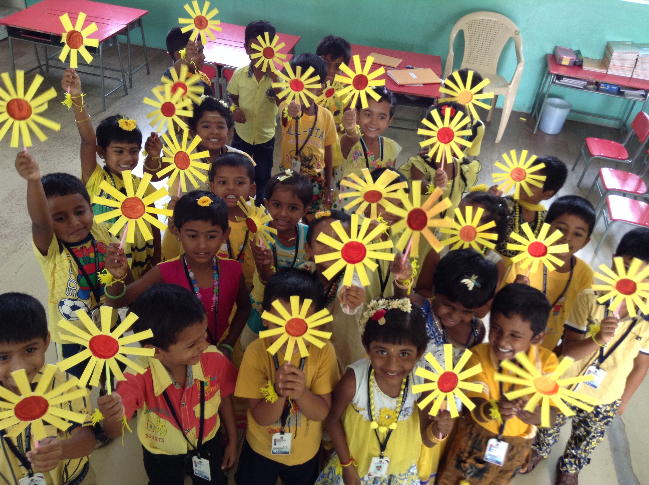 Yellow Color Day Celebration