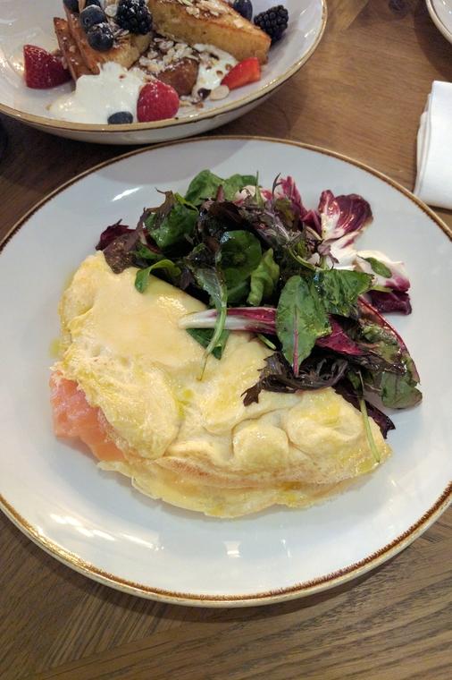 Smoked Salmon Omelette