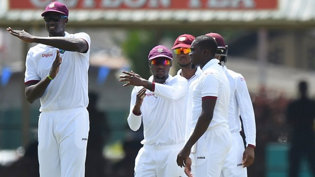West Indies win by four wickets