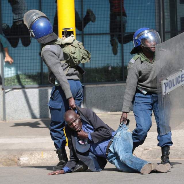 Zimbabwean police stormed the Bulawayo home of journalist Mduduzi Mathuthu, accusing him of links to planned protests. Mathuthu wasn't home at the time of the raid, and police arrested and detained his sister.