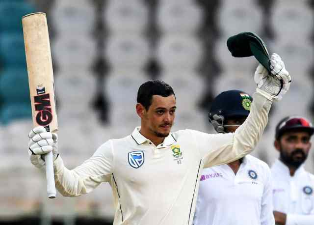 De Kock was also namedTest Cricketer of the Year